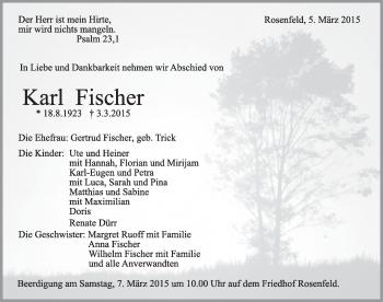 Zur Gedenkseite von Karl Fischer