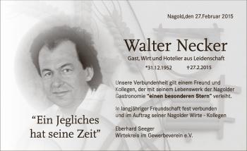 Zur Gedenkseite von Walter Necker