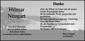 Zur Gedenkseite von Hilmar Neugart