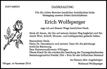 Zur Gedenkseite von Erich Wolfsperger