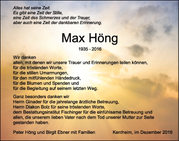 Zur Gedenkseite von May Höng