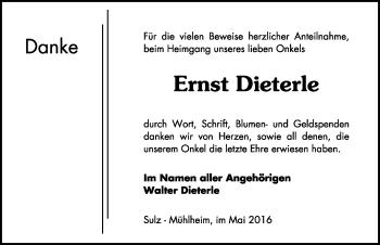 Zur Gedenkseite von Ernst Dieterle