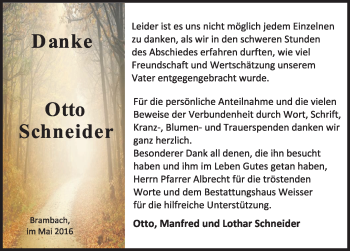 Zur Gedenkseite von Otto Schneider