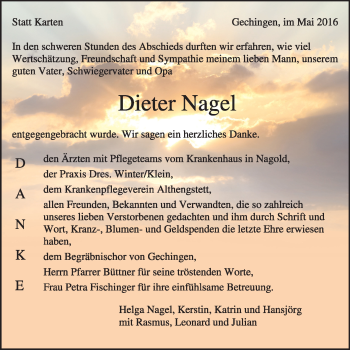 Zur Gedenkseite von Dieter Nagel